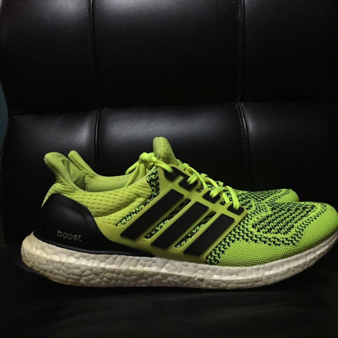 9eb7c0a83a5 ON SALE Adidas Ultraboost 1.0 Solar Yellow