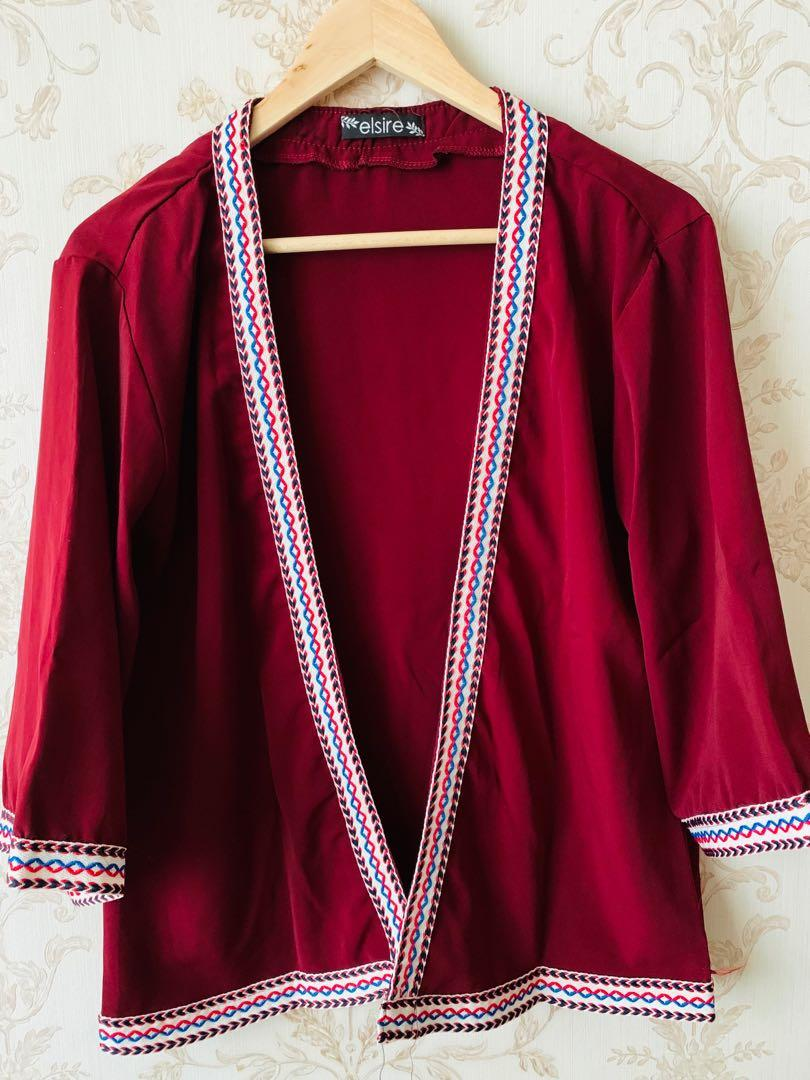Outer red- all size