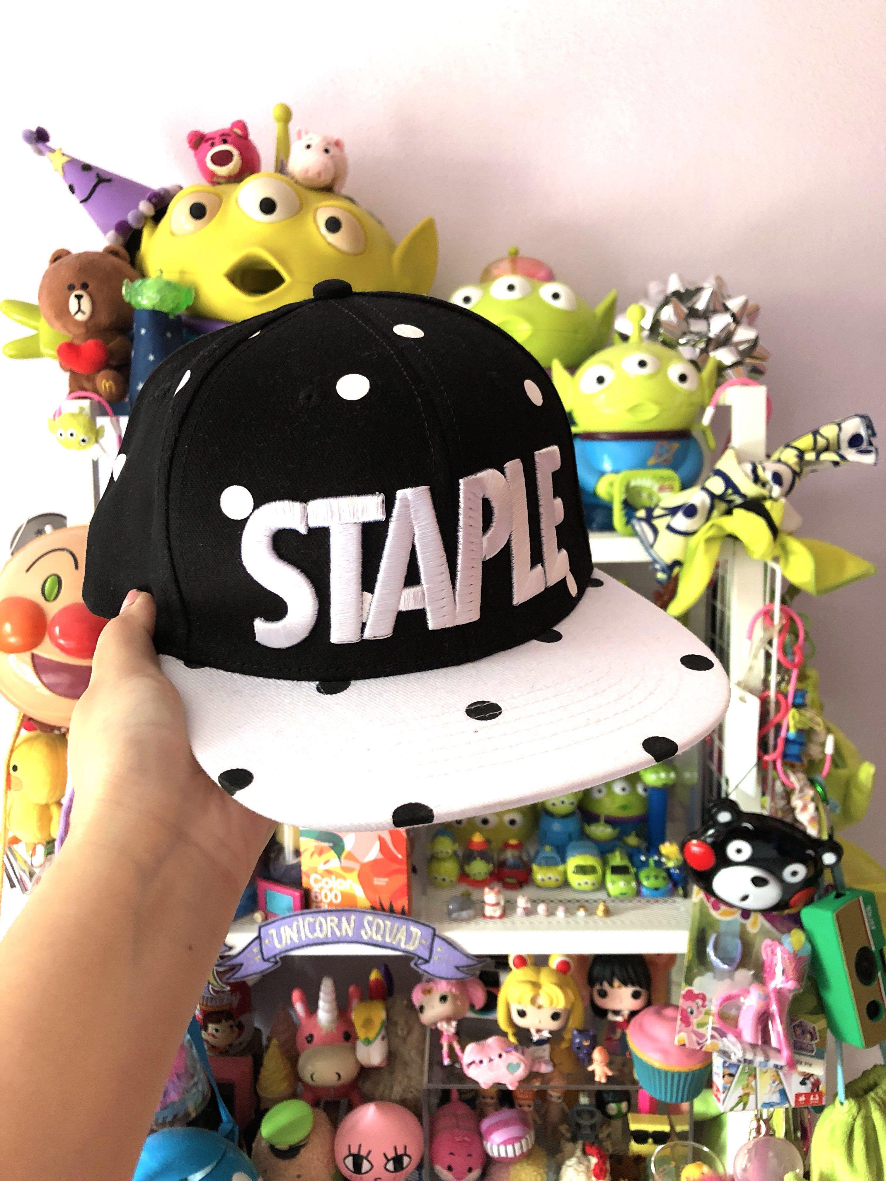 Staple Poka Dots SnapBack