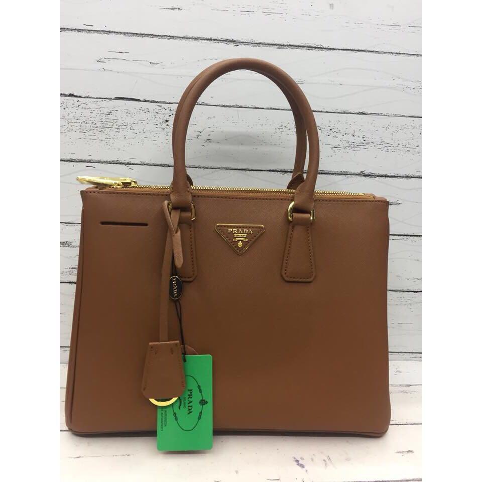 cc91b3d70089 PRADA Saffiano Handcarry Bag with Sling, Women's Fashion, Bags ...