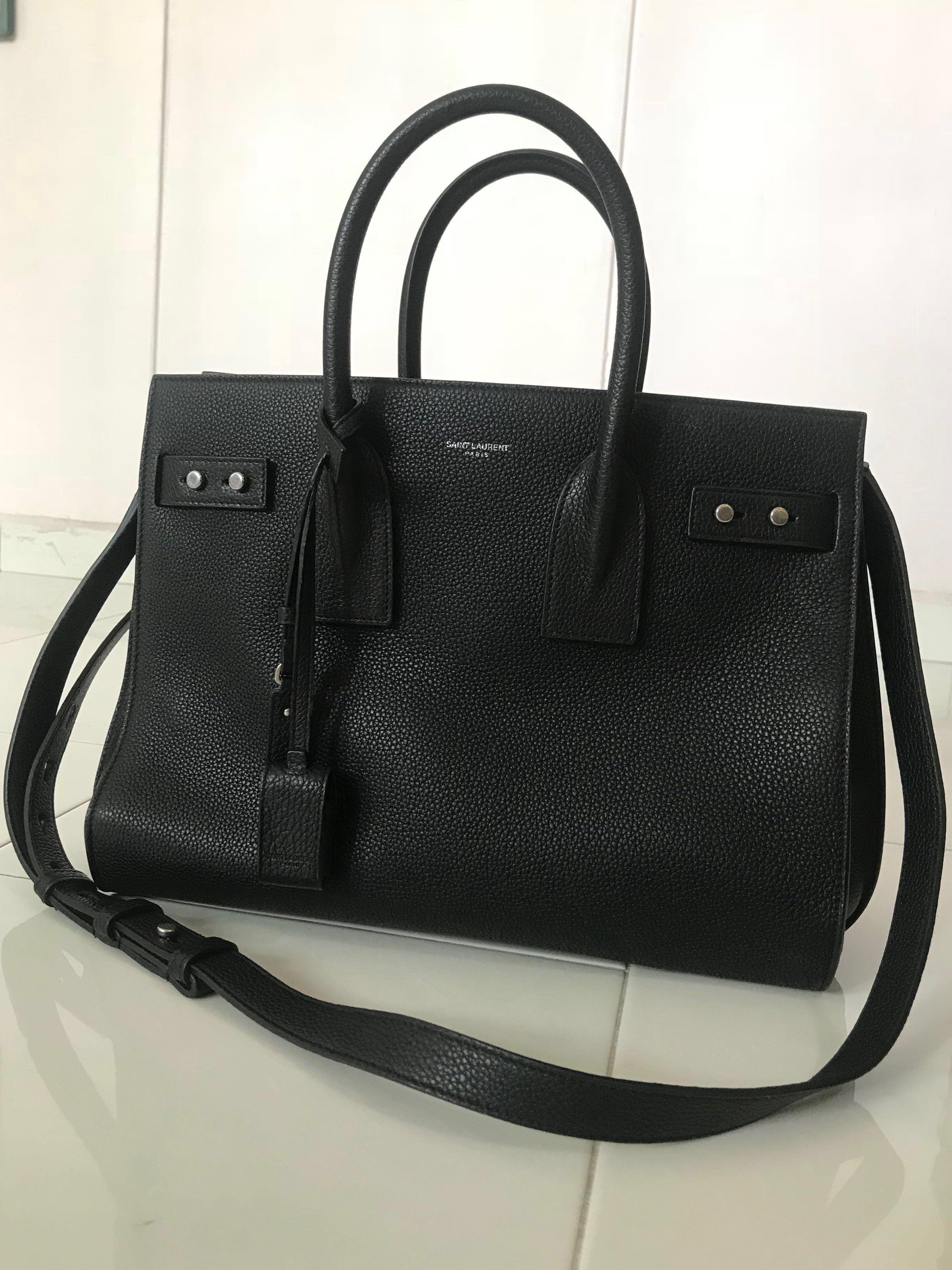 f7eb81c08979 Saint Laurent Sac De Jour Small (Grained Leather)