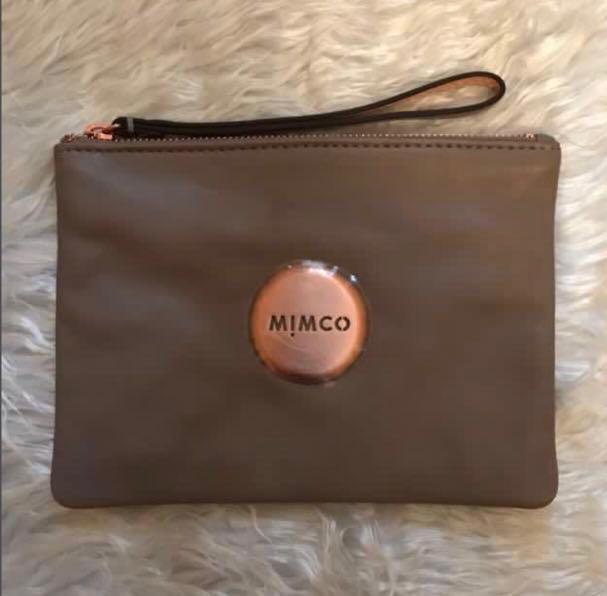 SALE!!! Mimco medium pouch in birch tandem brown