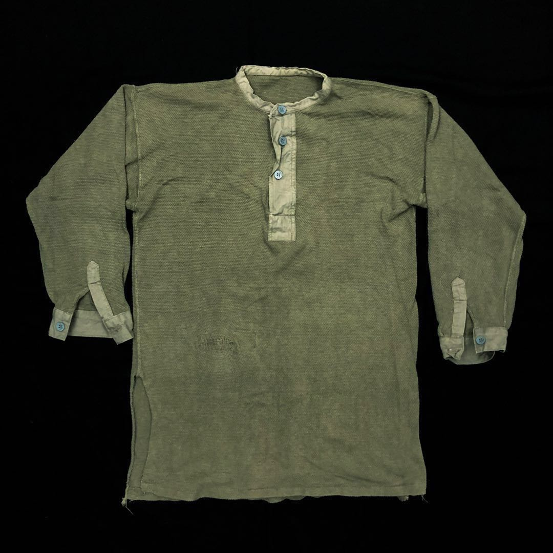 Sale Wwii 1940s Swedish Military Henley Men S Fashion Clothes