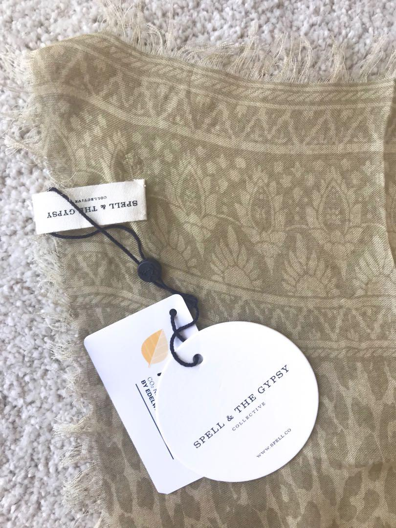Spell & The Gypsy Collective Limited Edition Petite Travel Scarf - Wild Thing