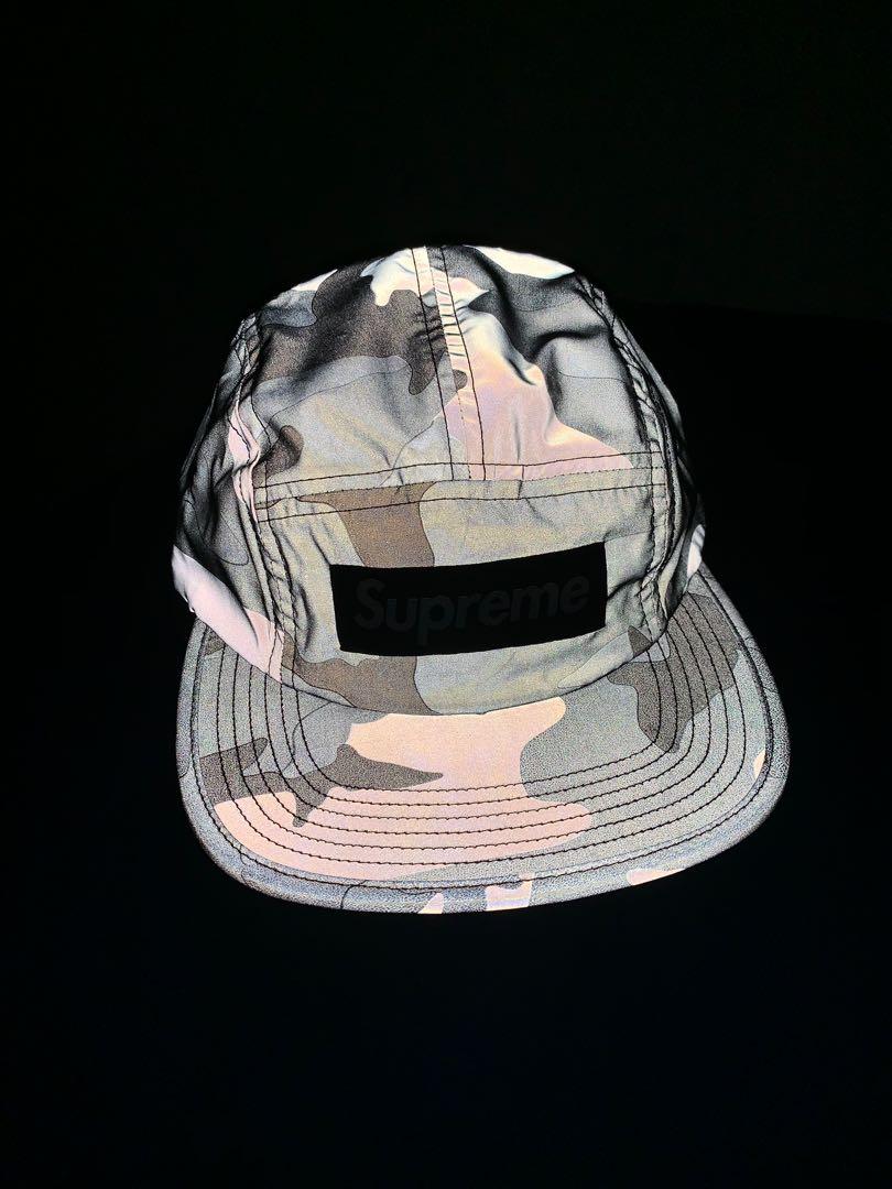 Supreme 3m reflective campcap 28c64426150