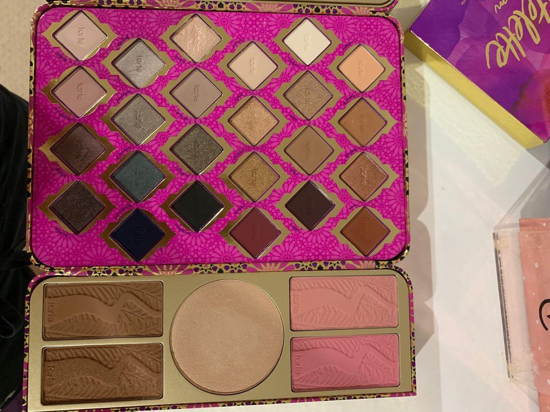 Tarte holiday collection treasure box