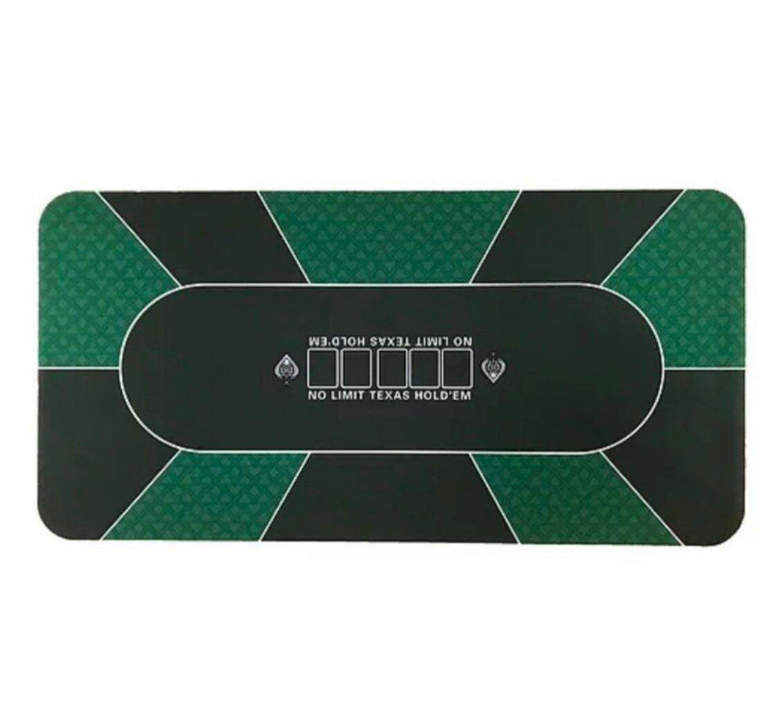 Texas Holdem Poker Table Mat With Bag Last One Toys