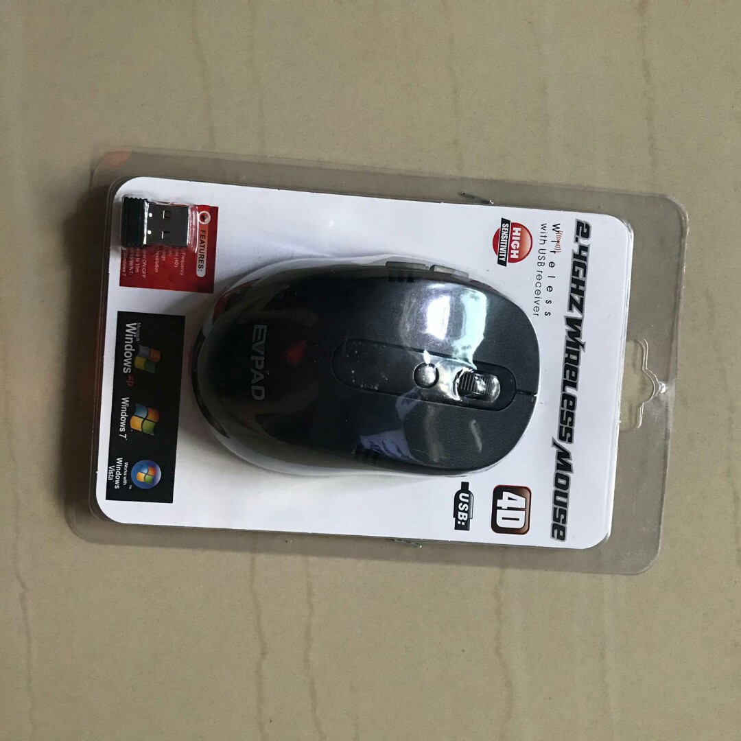 ad507965848 WIRELESS MOUSE, Electronics, Computer Parts & Accessories on Carousell