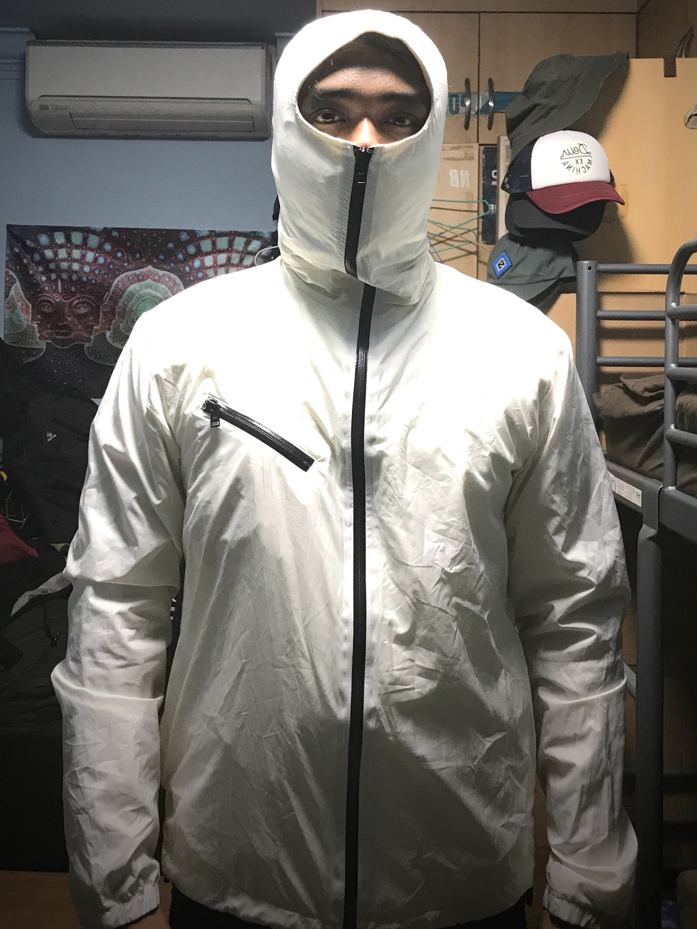 b141bb71dbf3 Y-3 Adidas Y3 Ninja zip hoodie - Size M