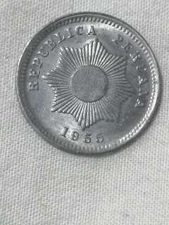 秘魯 1955 1分  硬幣 (G143)