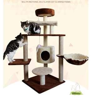 [Flash Sales] Multi-Layer /Multi-Functional Cat Climbing Frame / Cat Tree /Cat Condo / Cat Furniture House