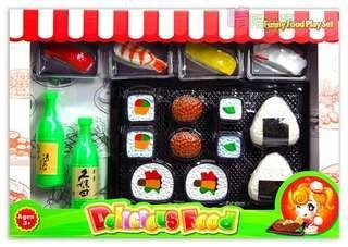 🚚 ✔現貨✰日式套餐壽司組合【晴陪我玩❤玩具】廚房玩具 家家酒 壽司玩具  廚房玩具 仿真壽司
