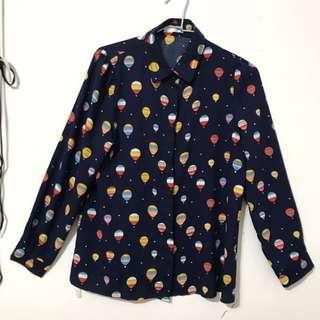 🚚 韓系熱氣球襯衫