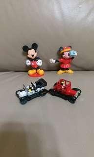 米奇及米妮 Mickey & Minnie 一set不散賣