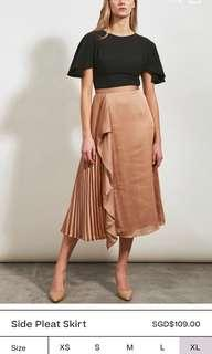 🚚 Collate the label pleated skirt l