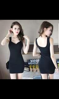 🚚 Little Black Dress V neck