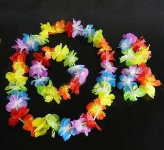 Hawaiian Garlands 4 pcs set