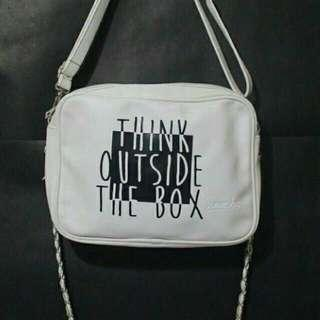 sling bag think outside the box