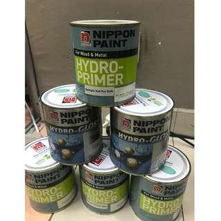 New 6 tong  Nippon paint ALL RM100 only