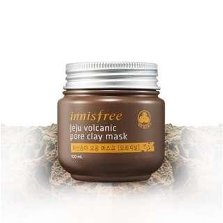 🚚 ☘️2 for $12.90 Mailed! Innisfree Jeju Volcanic Pore Clay Mask 100ml