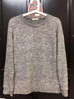 🚚 韓國製 毛衣 灰色 上衣 柔軟 休閒