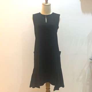 Picnic Black Dress