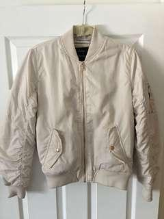 Bershka Quilted Bomber Jacket