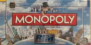 Monopoly limited edition RIM 25th anniversary