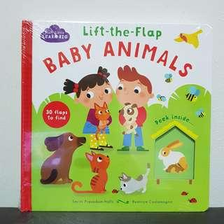 Lift the flap - Baby Animals