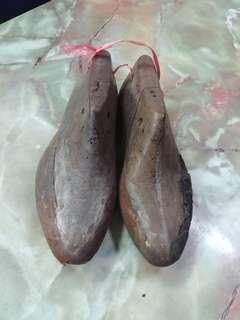 Vintage Wooden Shoe Mould Shoe Making tool