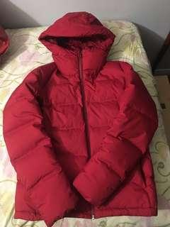 Uniqlo Red Puffer Jacket