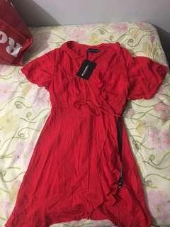 Pretty Little Thing Wrap Dress