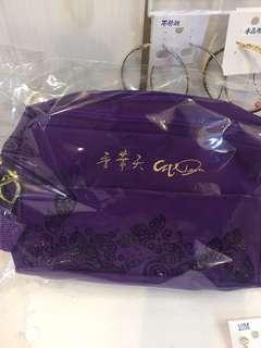 香華天紫色化妝包#紫氣東來#過年商品