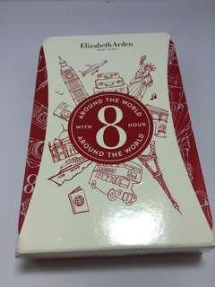 Elizabeth Arden 8小時潤唇膏的鐵盒#贈日本櫻花巧克力鐵盒