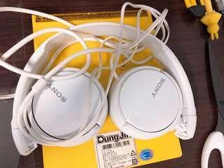 🚚 SONY無麥耳罩式耳機MDR-ZX310白色