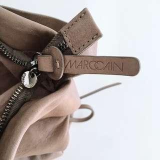 MARC CAIN Nubuck Leather Shoulder Bag