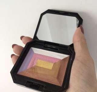 Shiseido 7 lights powder illuminator make up palette