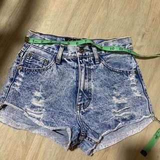 🌻 Ripped Denim Shorts