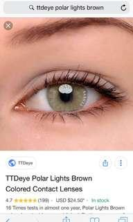 TTDEYE POLAR LIGHTS BROWN