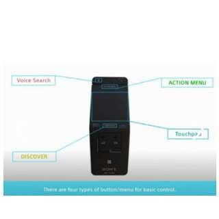 Sony Bravia RMF-TX100E Touchpad