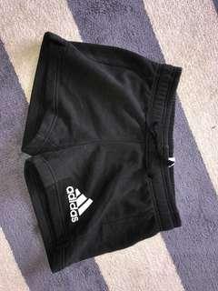 adidas shorts size small(size 6)