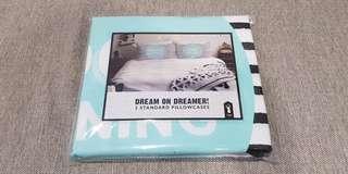 🚚 「 BNIP 」Pair of 'Good Morning - Sunshine' Pillow Cases