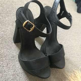lipstick high heels size 6