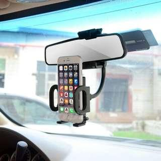 Rearview Mirror Car Phone Holder