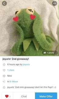 giveaway repost @joyuris