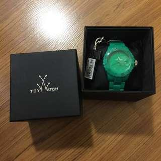 Marked down! Authentic Toywatch Monochrome Green Dial