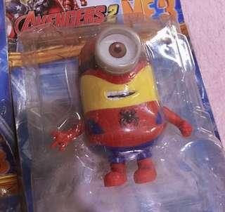 Minions Figure | Spiderman