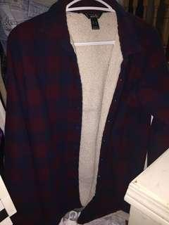 Flannel with fur
