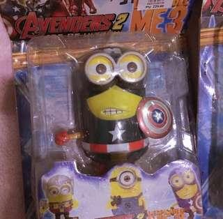 Minions Figure | Captain America