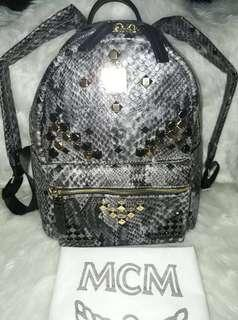 AUTHENTIC QUALITY MCM STUDDED BACKPACK